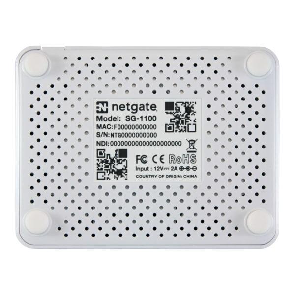 Bottom of Netgate SG1100